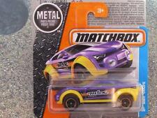 Matchbox 2016 #031/125 MBX COUPE violet / Jaune Aventure City étui E