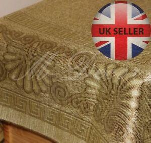 "Square greek design tablecloth olive/dark olive 90cm x 90cm(35""x35"")elegant gift"