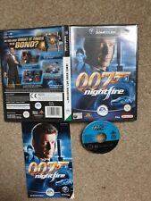 JAMES BOND 007: NIGHTFIRE NINTENDO GAMECUBE PAL GAME WITH MANUAL