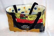 trendige upcycling Einkaufstasche - Handarbeit