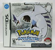 Pokemon SoulSilver Version NDS Nintendo DS Complete in Box with the Poke-walker