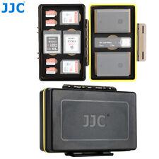 Camera Battery + SD MSD XQD Card Case fr Canon LP-E6 Nikon EN-EL15 Sony NP-FZ100