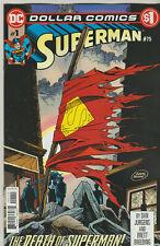 DC COMICS SUPERMAN #75 DOLLAR COMICS REPRINT DEATH OF SUPERMAN NM