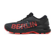 Asics de mujer Gel-Kayano 25 Berlín Zapatillas Para Correr Negro/Rojo 1012A119-001 Reino Unido 5 a 8