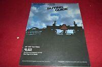Massey Ferguson Implements Buying Guide Summer//Fall 1984 Dealer/'s Brochure