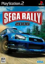 Used PS2 Sega Rally 2006 from Japan F/S
