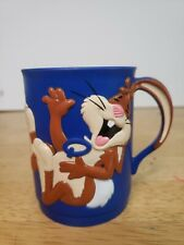 Preowned Vintage Nestle Quik Laughing 3D Bunny Rabbit Drinking Cup