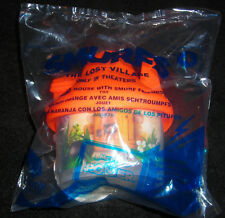 "SMURFS MCDONALDS THE LOST VILLAGE #4 ORANGE HOUSE 3"" TOY FIGURE CAKE TOPPER"