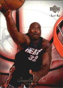 2006 Shaq NBA Pro wrestling Legend Shaquille O'Neal Upper Deck #43 shocked shot.