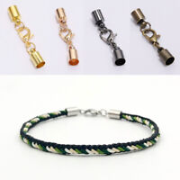 10pcs Jewelry Making Lobster Clasps Cord Extender Chain Connector Hooks Round