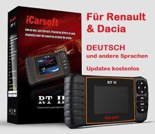 iCarsoft RT II für Renault Dacia OBD 2 Diagnose Tester & Service Rückstellung