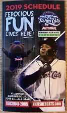2019 New Hampshire Fisher Cats Pocket Schedule Vlad Guerrero Jr