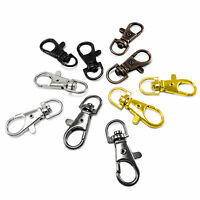 37 mm Lobster Swivel Clasps Clips Bag Key Ring Hook Findings Keychain AIT