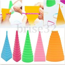 5Pcs Paper Quilling Border Buddy Bobbin Tower Quilled Creation Craft DIY