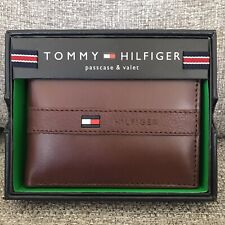 Tommy Hilfiger Ranger Leather Men's Passcase Billfold Wallet 31TL22X062