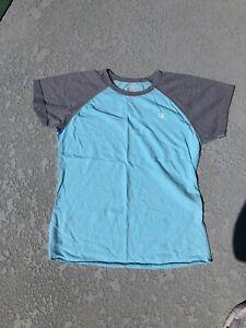 Juniors Champion Atheletic Top T-shirt Light Blue Size XL