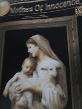 Mother of Innocence Cross Stitch Pattern Cross My Heart Retired Madonna Jesus
