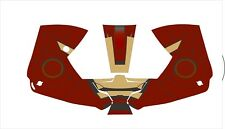 0700000800 ESAB Sentinel A50 WELDING HELMET WRAP DECAL STICKER iron man
