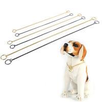 Snake Chain Puppy Show Collars Decoration Metal Training P Choke Collar Go Uskt