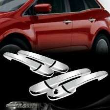For 06-12 Ford Fusion/07-10 Ford Edge Mirror Chrome Door Handle Cover Cap Trim
