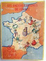 ALBUM IMAGES CHOCOLAT D'ANNECY - ANCIENS COSTUMES DE FRANCE