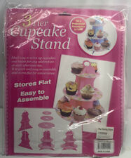 3-Tier Cupcake Stand Round  Cake Dessert Pastry Display Tower Holder BRAND NEW!