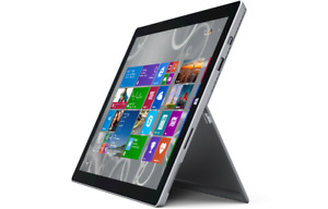"Microsoft Surface Pro 3 1631 12.3"" i5-4300U 4GB 128SSD WIFI QHD W10 TINY CRACK"