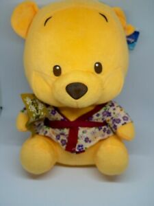 Winnie the Pooh With Mask Japanese Chinese Style Clothing: 30cm Tags Attached