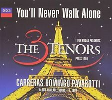 Carreras Domingo Pavarotti You'll never walk alone [Maxi-CD]