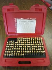 "Pin Gage Set M3(-) 0.501-0.625"",125 pins,-0.0002"" minus accuracy #707-755-new"