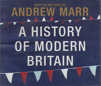 A History of Modern Britain Andrew Marr 6CD Audio Book Abridged FASTPOST