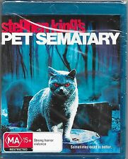 Pet Sematary (Blu-ray, 2012)New Region B Free Post