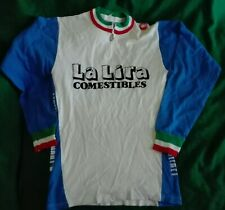 Castelli Maglia Jersey wool Shirt Cycling Ciclismo Eroica Italy lana Italia vint