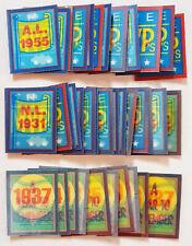 VINTAGE 1989 1990 SCORE MAGIC MOTION TRIVIA LOT of 43 PCS MINI 3D BASEBALL CARDS