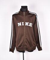 Nike Vintage Hommes Pull Piste Taille Veste 2XL