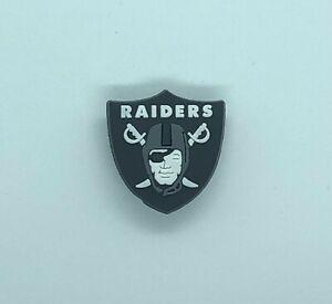 Shoe Charms for Crocs NFL Team Raiders Clogs Bracelet | Gift Party Favors