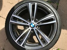 "OEM BMW 3 SERIES / 4 SEREIES 19"" STYLE 442M FRONT ALLOY WHEEL 7852493 ORBIT GREY"