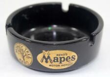 Rare Vintage Mapes Motor Hotel Advertising Ashtray - Reno, Nevada - Lot #1