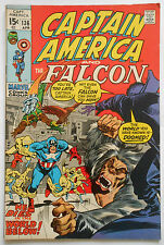 CAPTAIN AMERICA #136 - APR 1971 - MOLE MAN APPEARANCE! - VFN+ (8.5) CENTS COPY