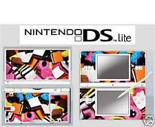 nintendo DS Lite - LIQUORICE ALLSORTS - 4 Piece Sticker Skin vinyl