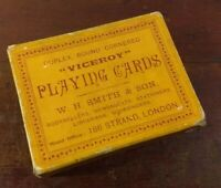 c1920's Vintage Viceroy Playing Cards by W.H. Smith & Son, 186 Strand, London