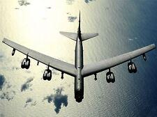 MILITARY AIR PLANE BOMBER SEA B-52 STRATOFORTRESS BIG FORCE POSTER PRINT BB951A