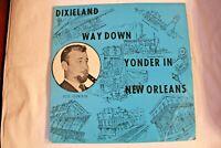 Dixieland Way Down Yonder In New Orleans Jack Delaney LP Cover VG+ Vinyl NM