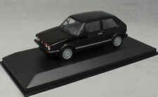 Minichamps Maxichamps Volkswagen VW Golf MkI GTi in Black 1983 94055172 1/43 NEW