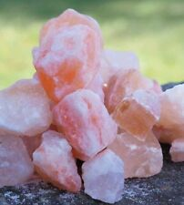 2KG PINK HIMALAYAN Salt CHUNKS PIECES Natural Rock Health Bath Spa Detox SOLE