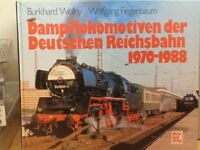Buch Dampflokomotiven der Deutschen Reichsbahn 1970-1988 Autor:Wollny, Top Fotos
