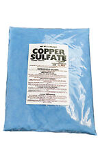 Copper Sulfate Crystals 10lb Bag (FINE CRYSTAL)
