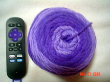 1 Cake/Roll of Premier Sweet Roll Worsted Weight Yarn in Grape Swirl
