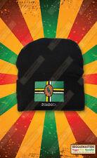 Dominica Bandera Insignia Gorro De Punto Sombrero Roots Reggae Rasta