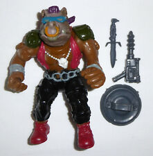 1988 TMNT Turtles figure Bebop (soft head version) - 100% complete